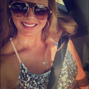Sunglasses cartier gold